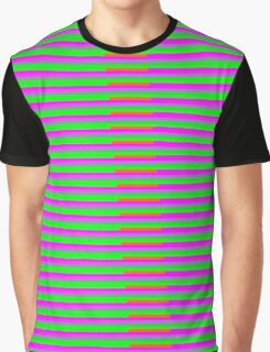 Interference Pattern Graphic T-Shirt