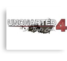 **Uncharted 4 A thief's end** Metal Print