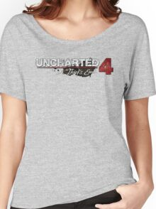 **Uncharted 4 A thief's end** Women's Relaxed Fit T-Shirt