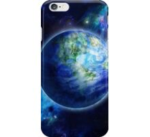 Beautiful Earth is in space iPhone Case/Skin