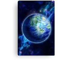 Beautiful Earth is in space Canvas Print