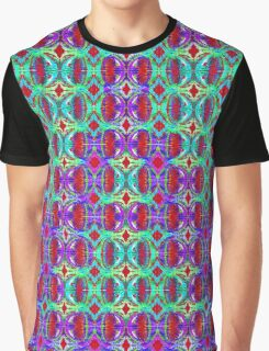 Psychedelic Ghostly Scream Graphic T-Shirt