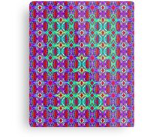 Psychedelic Ghostly Scream Metal Print