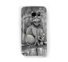 witch cat Samsung Galaxy Case/Skin