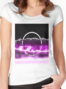 Reflections In Purple Women's Fitted Scoop T-Shirt