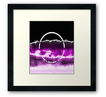 Reflections In Purple Framed Print
