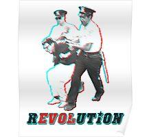 Bernie Sanders Arrested 3D Poster