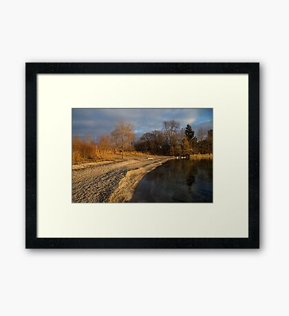 Early Light on the Beach Framed Print
