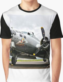 B-17 Bomber Airplane  Graphic T-Shirt