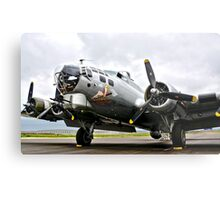 B-17 Bomber Airplane  Metal Print