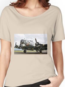 B-17 Bomber Airplane  Women's Relaxed Fit T-Shirt