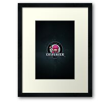 Dating A Cosplayer Framed Print