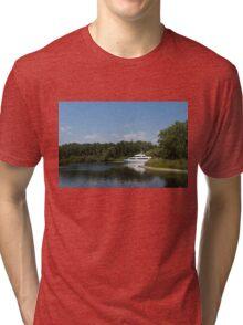 Cruising Among the Toronto Islands  Tri-blend T-Shirt