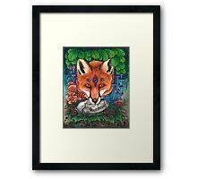 Undergrowth - Red Fox Framed Print