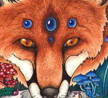 Undergrowth - Red Fox Sticker