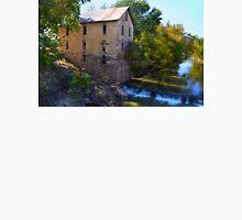 Historic Cedar Point Mill, Kansas Mens V-Neck T-Shirt