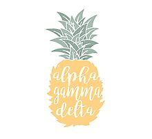 AGD Pineapple Photographic Print