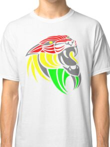 Reggae Music Cool Lion Reggae Colors T Shirts and Stickers Classic T-Shirt