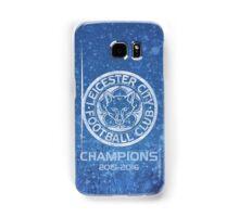 Leicester City Premier League Champions 3 Samsung Galaxy Case/Skin