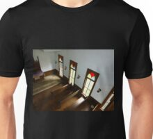 Looking Down On The Pews Unisex T-Shirt