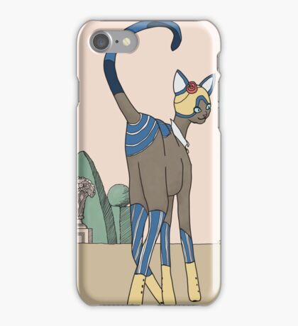 Constance, Art Deco Cat iPhone Case/Skin