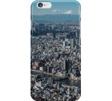 The city of Tokyo iPhone Case/Skin