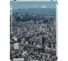 The city of Tokyo iPad Case/Skin