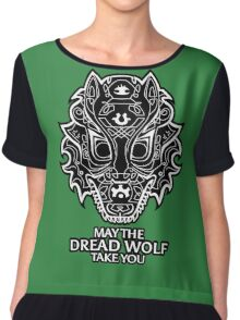 May the Dread Wolf Take You Chiffon Top