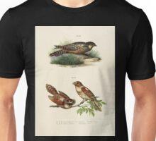 Bilder atlas zur Wissenschaftlich populären Naturgeschichte der Vögel in ihren sämmtlichen Hauptformen Leopold Joseph Fitzinger 1864 080 Unisex T-Shirt