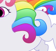 Cute Baby Rainbow Unicorn Sticker