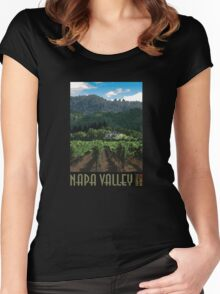 Napa Valley - Far Niente III Women's Fitted Scoop T-Shirt