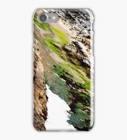 seaweed rocks and the ocean iPhone Case/Skin