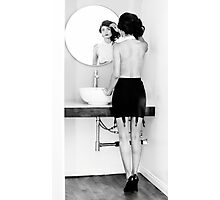 Reflecting with Chanon Photographic Print