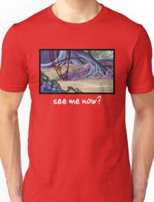 She-Ra Princess of Power - Loo Kee - Hiding - See me now? - White Font Unisex T-Shirt