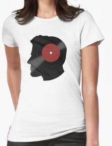 Vinyl Records Lover - The DJ - Vinylized Man T Shirt Womens Fitted T-Shirt