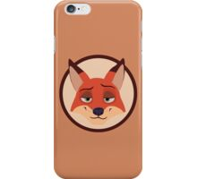 Nick Wilde - Zootopia  iPhone Case/Skin