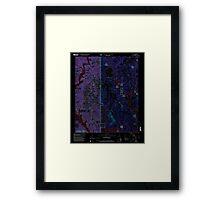 USGS TOPO Map Alabama AL Arley 303145 2000 24000 Inverted Framed Print
