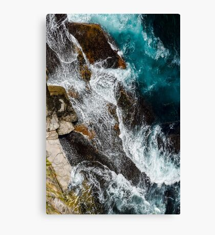 Water Over Rocks No. 3 Canvas Print