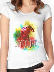Nyquist 2016 Kentucky Derby Winner gifts and apparel Women's Fitted Scoop T-Shirt