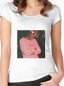 Lil Yachty Flex Women's Fitted Scoop T-Shirt