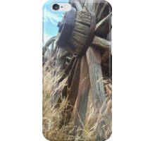 Weathered Wagon Wheel iPhone Case/Skin
