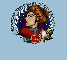 Janeway is Rockin' That Bun o' Steel Unisex T-Shirt