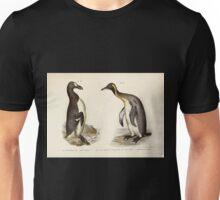 Bilder atlas zur Wissenschaftlich populären Naturgeschichte der Vögel in ihren sämmtlichen Hauptformen Leopold Joseph Fitzinger 1864 164 Unisex T-Shirt