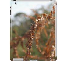 Dried bramble iPad Case/Skin