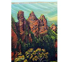 Three Sisters, Blue Mountains Photographic Print