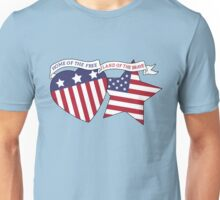 Home Of The Free Land Of The Brave Unisex T-Shirt