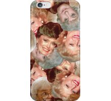 Golden Girls Toss iPhone Case/Skin