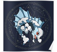 Kawaii Hunter ~ Glacial Agnaktor Poster