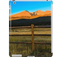 Rocky Mountain Sunrise iPad Case/Skin