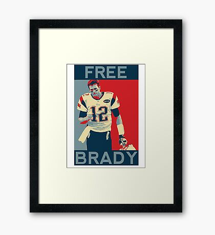 Free Brady 2016 Framed Print